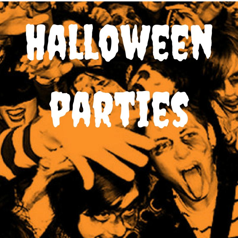 Halloween steht vor der Tür – Partys