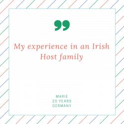 host family experience in dublin