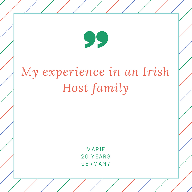 host family experience in dublin