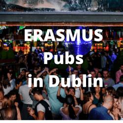 Erasmus pubs in Dublin