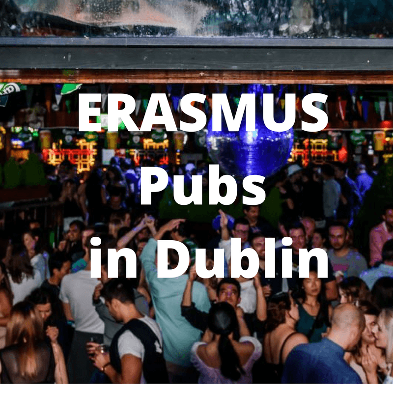 Erasmus pubs in Dublin