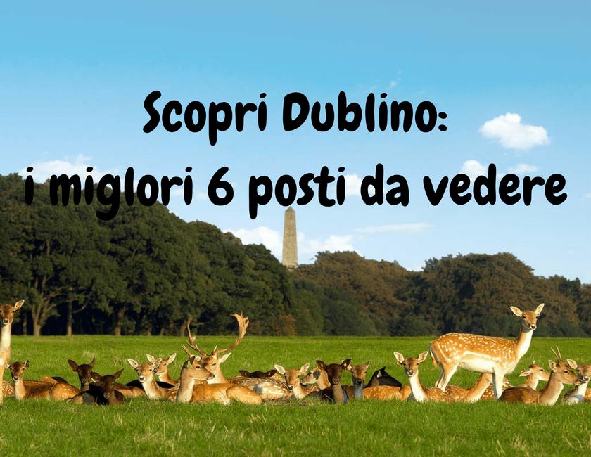 I 6 posti che non ti puoi perdere a Dublino!
