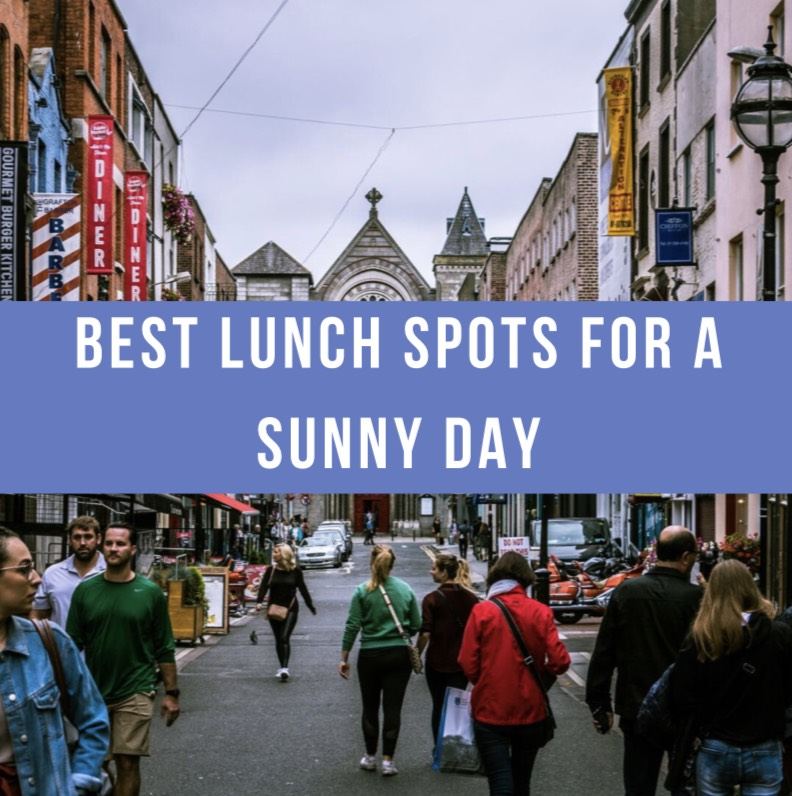 Best places for lunch on a sunny day