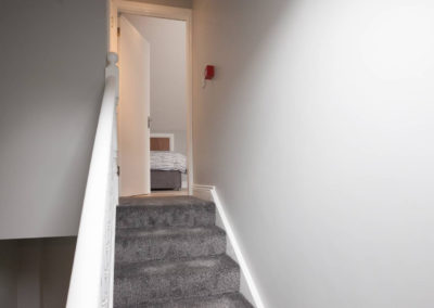 Stairs to Room 7